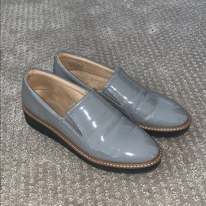 Naturalized Patent Leather Loafers